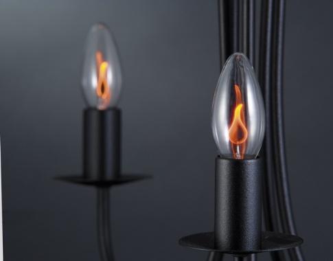Žárovka plamínek 3W E14 čirá-1