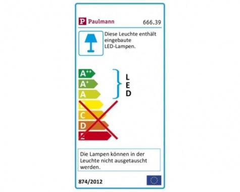 Přisazené bodové svítidlo LED  P 66639-3