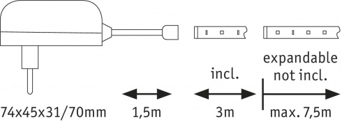 LED pásek P 70320-2