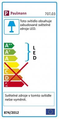 LED pásek 1,5W modrý/bílý s USB konektorem 30cm - PAULMANN-1