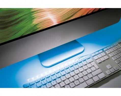 LED pásek 1,5W modrý/bílý s USB konektorem 30cm - PAULMANN-3