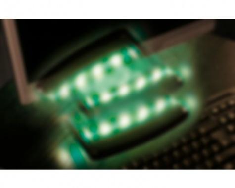 LED pásek 1,5W modrý/bílý s USB konektorem 30cm - PAULMANN-4