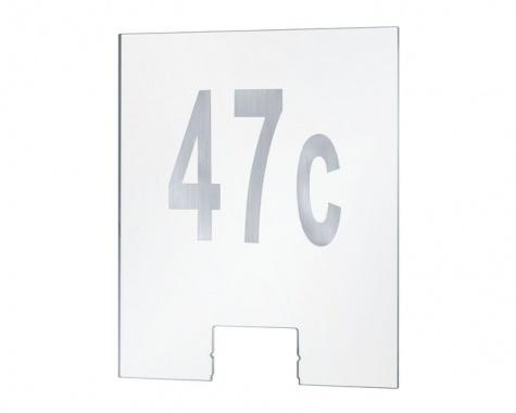 Domovní čísla k nástěnnému svítidlu Cone Transparent - PAULMANN-2