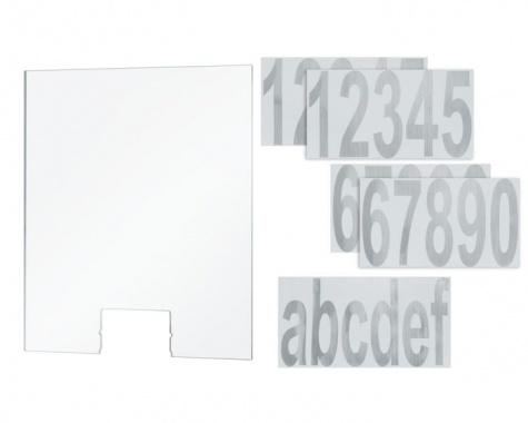 Domovní čísla k nástěnnému svítidlu Cone Transparent - PAULMANN-3