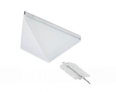 LED nábytkové přisazené svítidlo Kite trojúhelník 1 ks vč. LED modulu 1x6,2W - PAULMANN-4