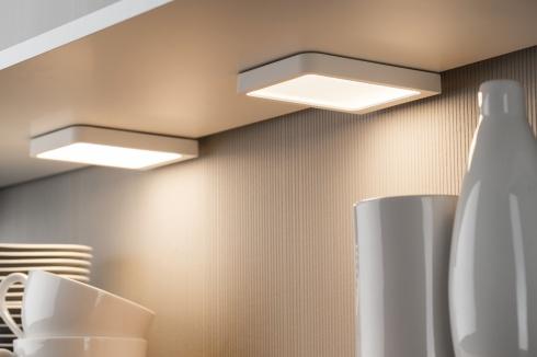 LED nábytkové přisazené svítidlo Vane hranaté 1ks vč. LED modulu 1x6,7W - PAULMANN-2
