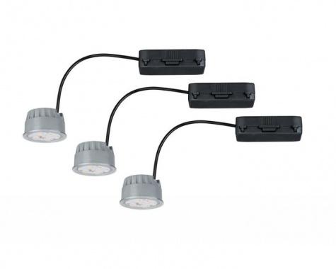 LED modul Coin pro zápustné svítidlo čirá 7W sada 3ks stmívatelné - PAULMANN-2