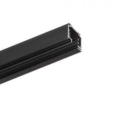 EUTRAC 2m černá 230V - tříokruhová lišta