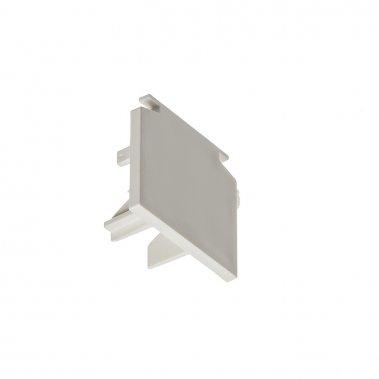 EUTRAC bílá - koncovka pro tříokruhovou lištu