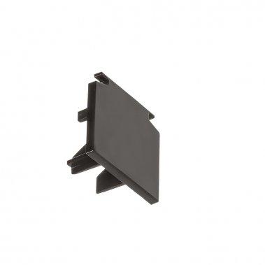 EUTRAC černá - koncovka pro tříokruhovou lištu