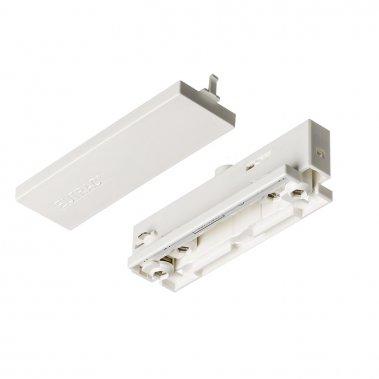 EUTRAC bílá 230V - průběžné napájení pro tříokruhovou lištu
