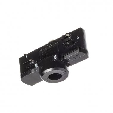 EUTRAC černá 230V - adaptér pro tříokruhovou lištu