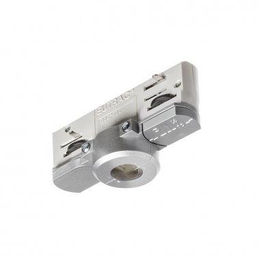 EUTRAC stříbrnošedá 230V - adaptér pro tříokruhovou lištu