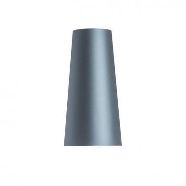 Stolní stínidlo CONNY 15/30 Monaco petrolejová / stříbrné PVC max. 23W R11579