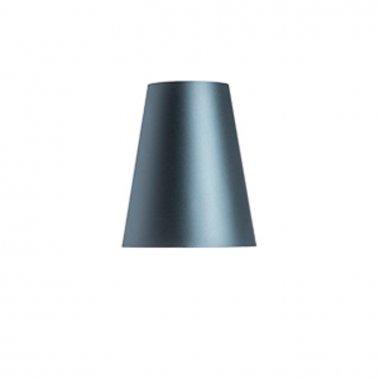 Stolní stínidlo CONNY 25/30 Monaco petrolejová / stříbrné PVC max. 23W R11580