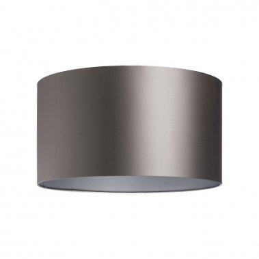 Stínidlo RON 55/30 Monaco holubí šeď / stříbrné PVC max. 23W R11585