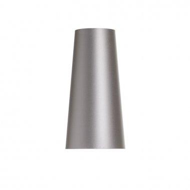 Stolní stínidlo CONNY 15/30 Monaco holubí šeď / stříbrné PVC max. 23W R11590