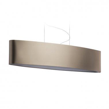 Stínidlo CASUAL 120/25 Monaco holubí šeď / stříbrné PVC max. 23W R11593