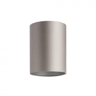 Stínidlo RON 15/20 Monaco holubí šeď / stříbrné PVC max. 28W R11810