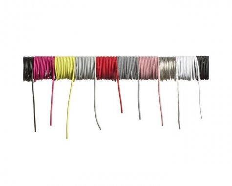 FIT textilní kabel 3X0,75 1bm červená/bílá