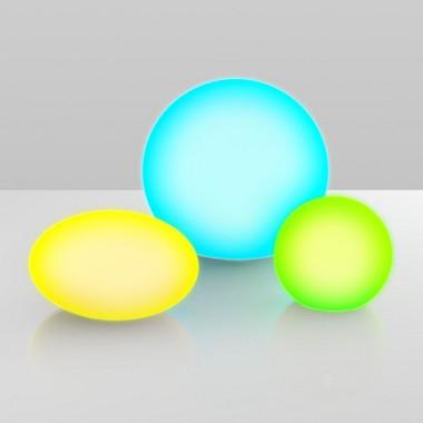 Venkovní svítidlo - přenosná koule na baterie RE EST555
