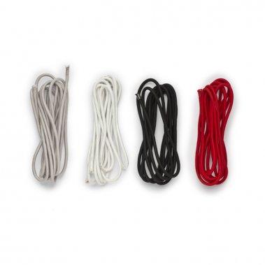 FIT textilní kabel 3x0,75 4m černá 230V - RED - DESIGN RENDL-2