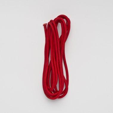 FIT textilní kabel 3x0,75 4m červená 230V - RED - DESIGN RENDL-1