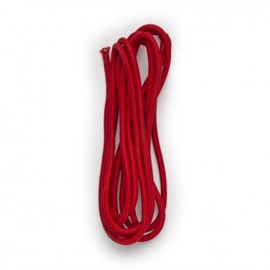 FIT textilní kabel 3x0,75 4m červená 230V - RED - DESIGN RENDL-4