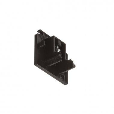 EUTRAC černá - koncovka pro tříokruhovou lištu-1
