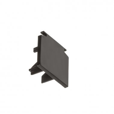 EUTRAC černá - koncovka pro tříokruhovou lištu-4