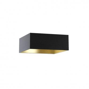 Stínidlo TEMPO 50/19 Polycotton černá / zlatá fólie max. 23W R11475-1
