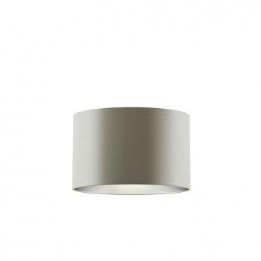 Stínidlo RON 40/25 Monaco holubí šeď / stříbrné PVC max. 23W R11587-1
