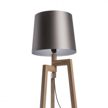 Stojanové stínidlo Monaco holubí šeď / stříbrné PVC max. 23W CONNY 35/30 R11592-3