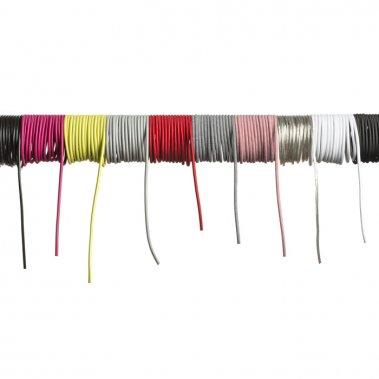FIT textilní kabel 3X0,75 1bm červená-2
