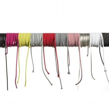 FIT textilní kabel 3X0,75 1bm červená-3