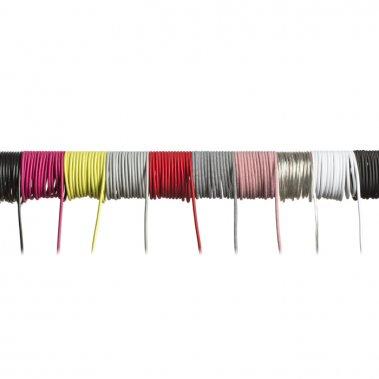 FIT textilní kabel 3X0,75 1bm červená-4