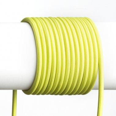 FIT textilní kabel 3X0,75 1bm limetková -2
