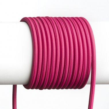 FIT textilní kabel 3X0,75 1bm fuchsiová -1