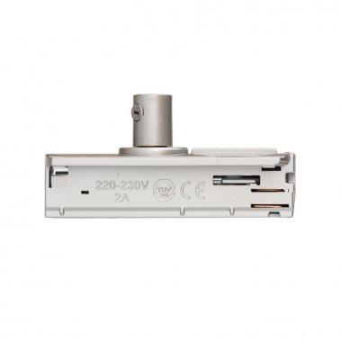 1F adaptér stříbrnošedá 230V - RED - DESIGN RENDL-1