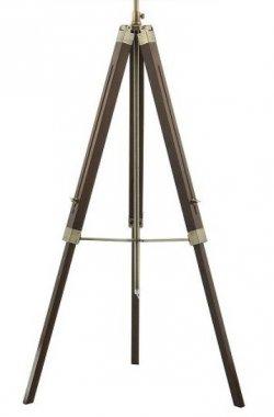 Stojanový podstavec EASEL tmavé dřevo 230V E27 60W RE EAS4947
