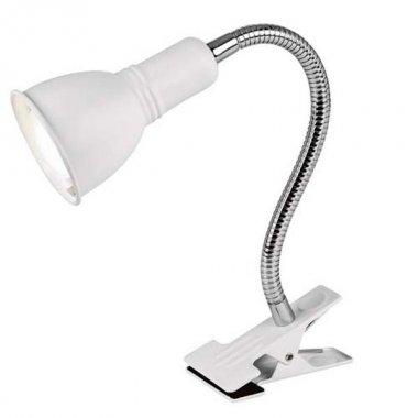 Stolní lampička na klip RE PAR228 bílá