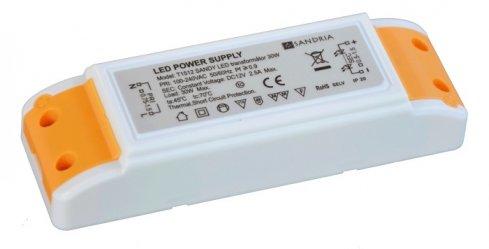 T1512 SANDY LED trafo 30W SA T1512