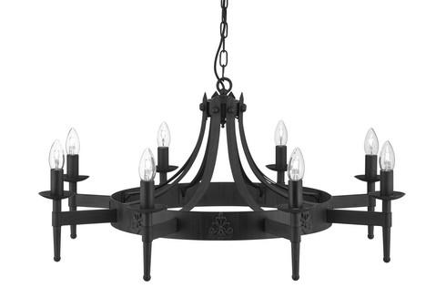 Lustr/závěsné svítidlo SL 2428-8BK