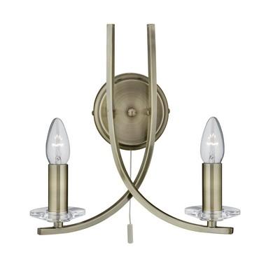 Nástěnné svítidlo SL 4162-2AB
