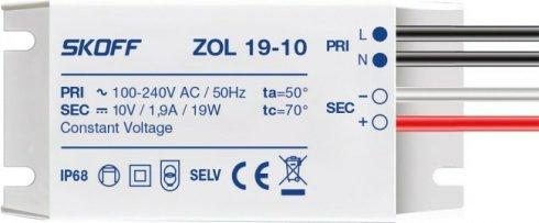 LED napaječ 10V/19W ZOL 19 SK ZL-019-C-1-1