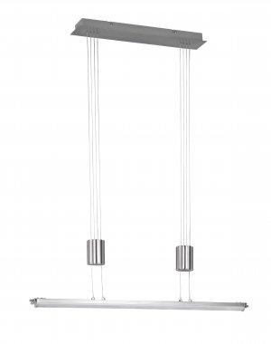 Závěsné svítidlo TOULOUSE  1x LED 21,6 W matný nikl - WOFI-1
