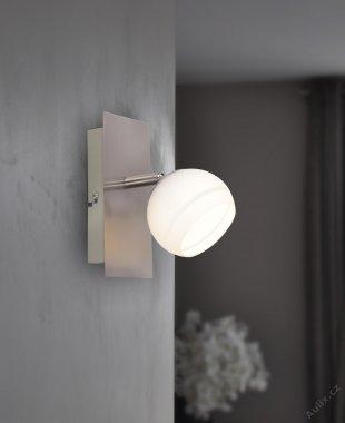 LED Spotové svítidlo CARA 1x LED 5 W matný nikl - WOFI WO 4535.01.64.0000 A