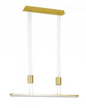 Závěsné svítidlo TOULOUSE  1x LED 21,6 W matná mosaz - WOFI
