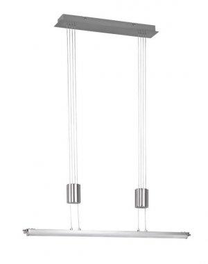 Závěsné svítidlo TOULOUSE  1x LED 21,6 W matný nikl - WOFI