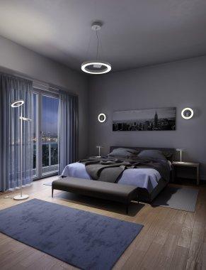 Lustr/závěsné svítidlo LED  96656-1